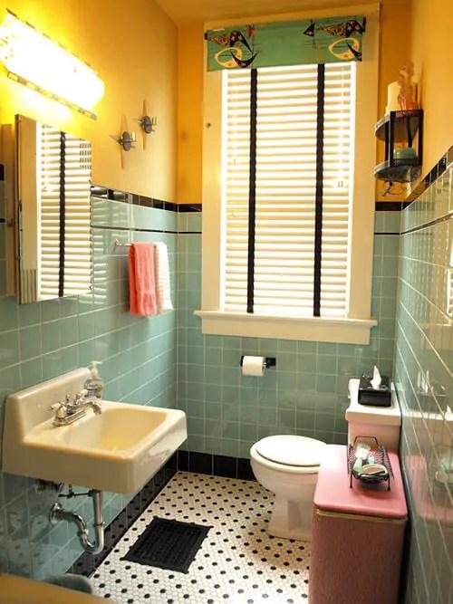 title   Vintage Bathroom Floor Tile Ideas