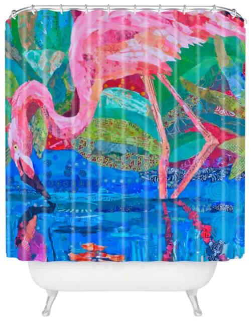 My 10 Favorite Flamingo Shower Curtains 24 More Retro Renovation