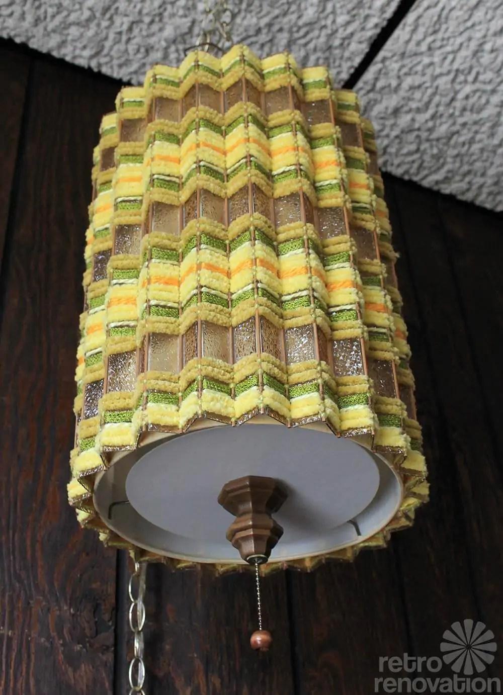 Yellow Pendant Light