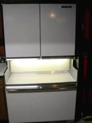 The 1964 GE Americana refrigeratorfreezer  Retro Renovation
