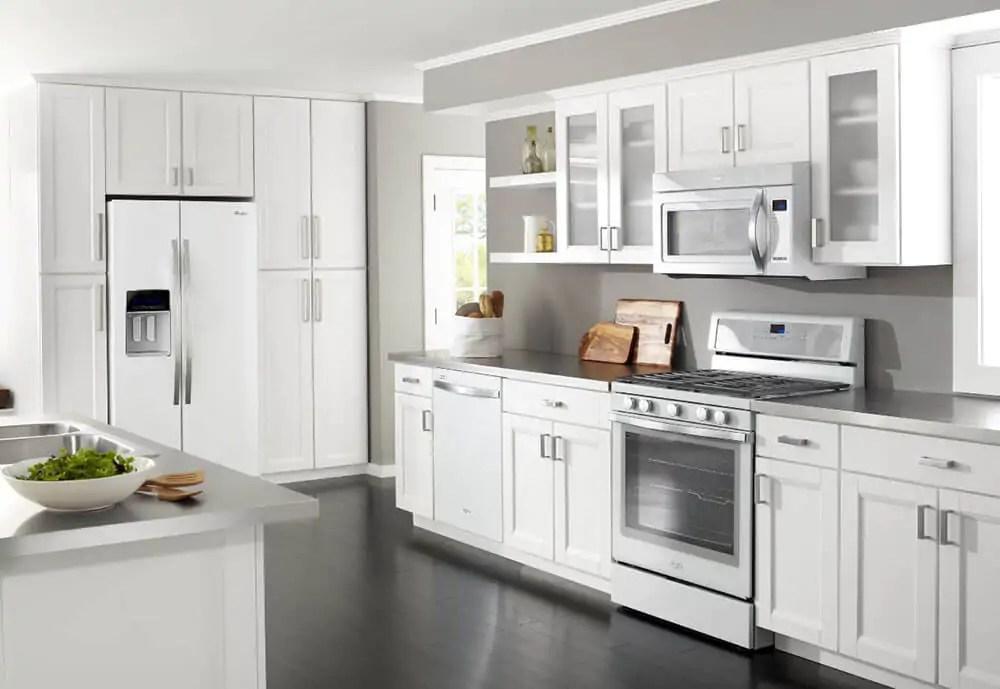 "Whirlpool ""White Ice"" Appliances"