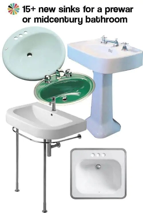 midcentury or prewar bathroom