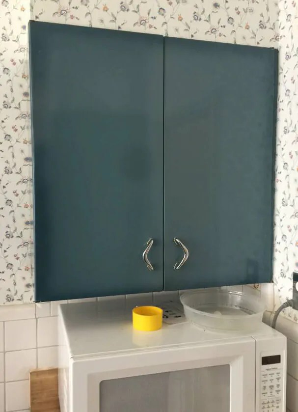 Burnt Blue Youngstown Steel Kitchen Cabinets What A Lovely Color Retro Renovation