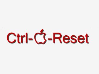 Ctrl-Pomme-Reset