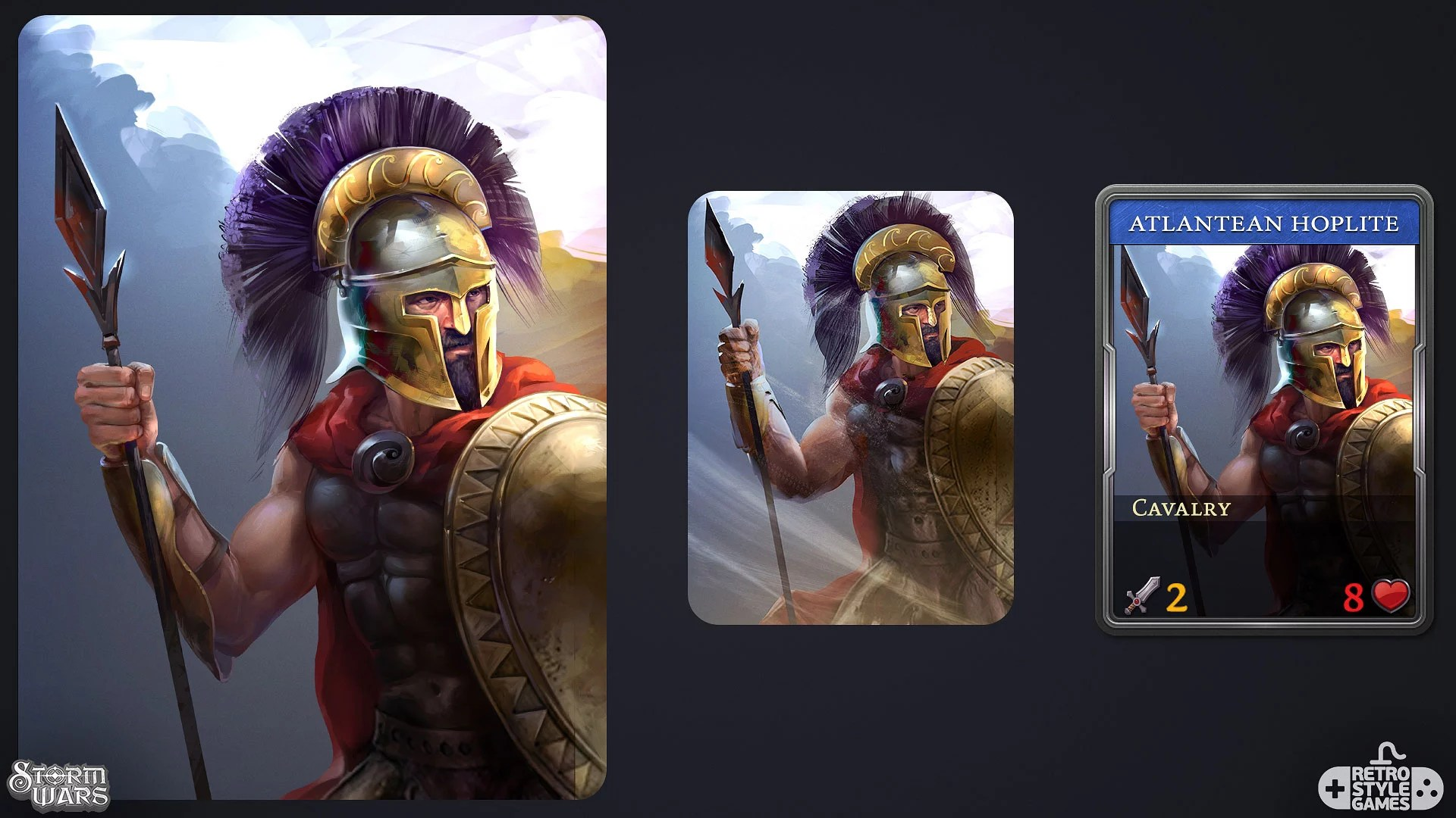 Storm Wars Collectible Cards Atlantean