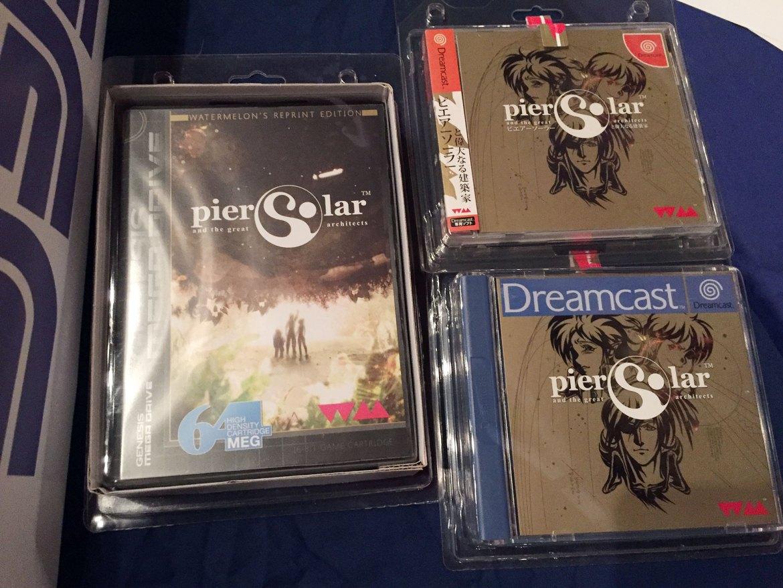 Pier Solar Dreamcast RetroBarcelona