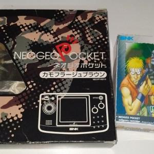 Neo Geo Pocket + Juego Metal Slug