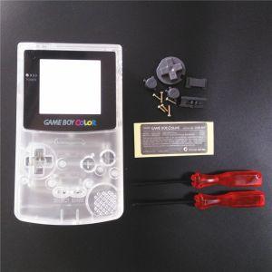 Kit Carcasa Nintendo Game Boy Color transparente