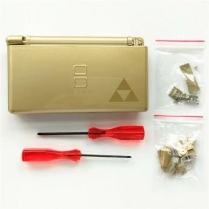 Kit Carcasa Nintendo DS Lite: Edición La Leyenda de Zelda oro