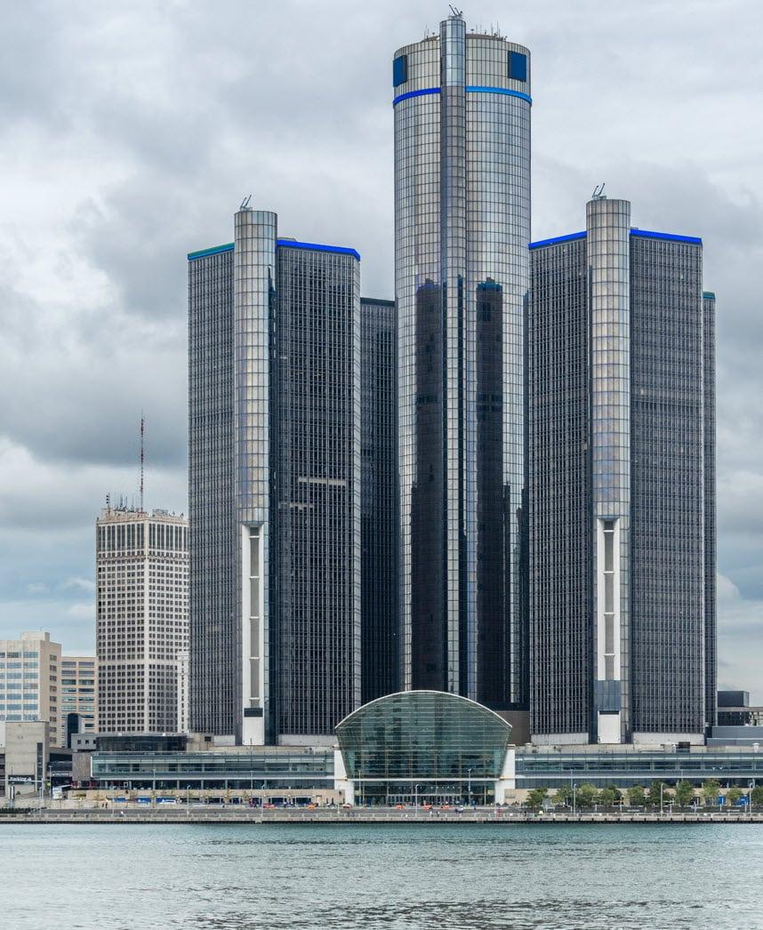Ren Cen Detroit