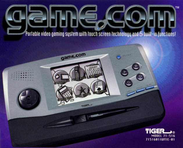 Game Com by Tiger
