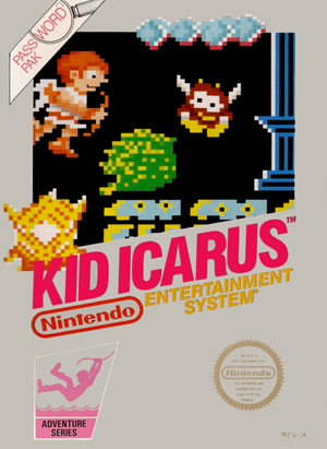 Kid Icarus NES Box Art