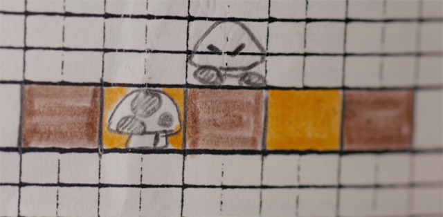 Mario Graph Paper