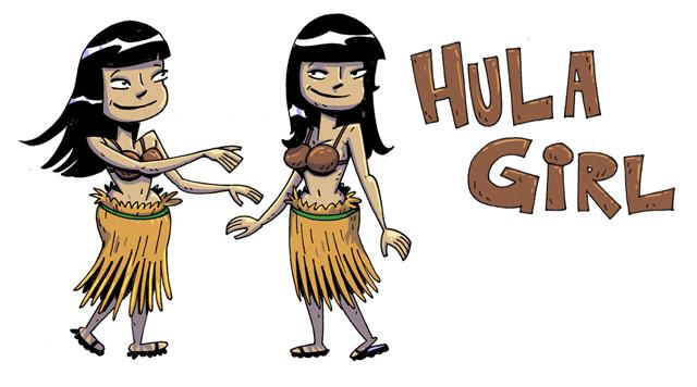 ToeJam and Earl Hula Girl
