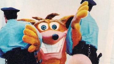 Crash Bandicoot Seattle Ad