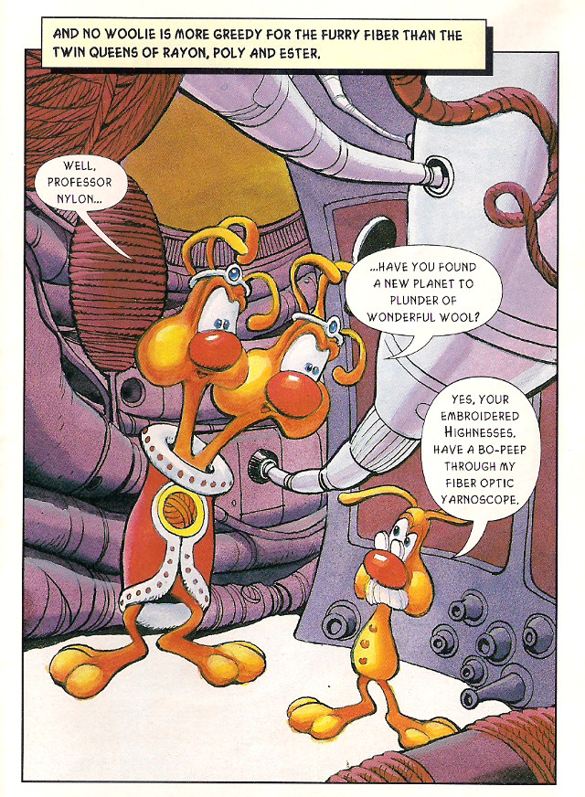 Bubsy Comic Book Page 3