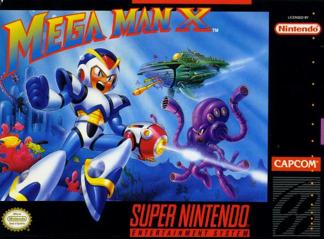 Mega Man X Box Art