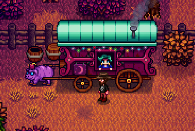 Stardew Valley Wagon