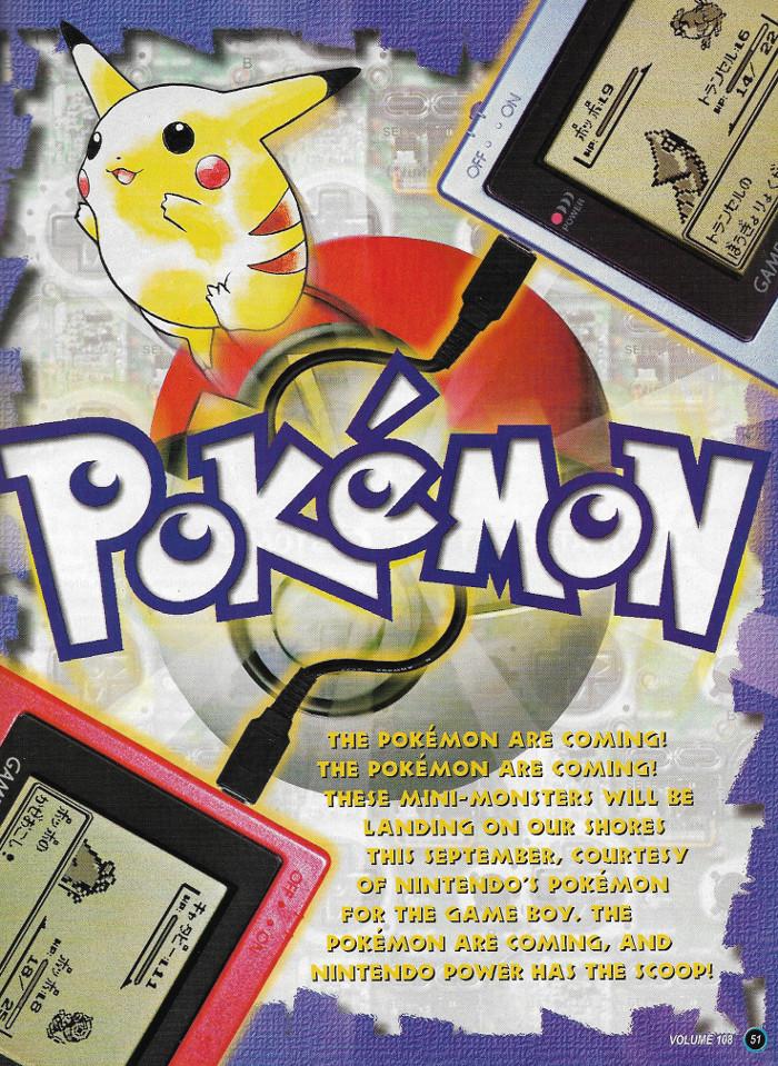 Pokemon Nintendo Power