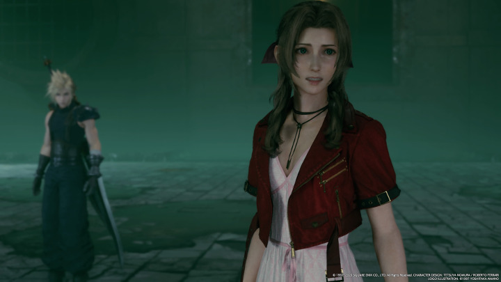 Final Fantasy VII - Aerith Horse Laugh