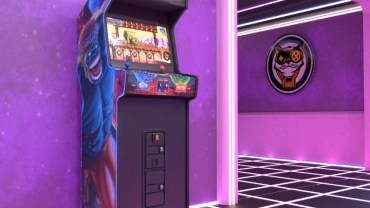 Bite the Bullet Arcade Cabinet