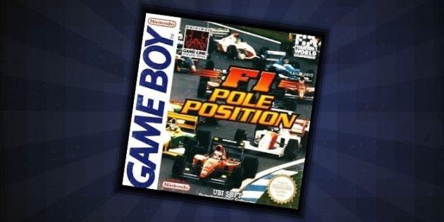 F1 Pole Position - #10 Rare Game Boy Game