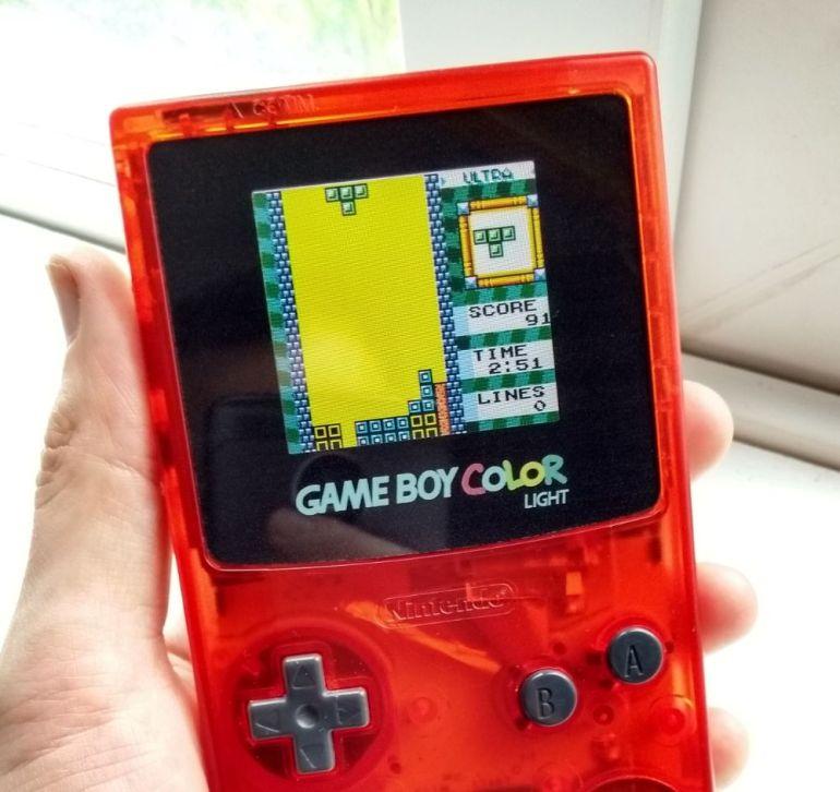 Game Boy Color Backlight Kit