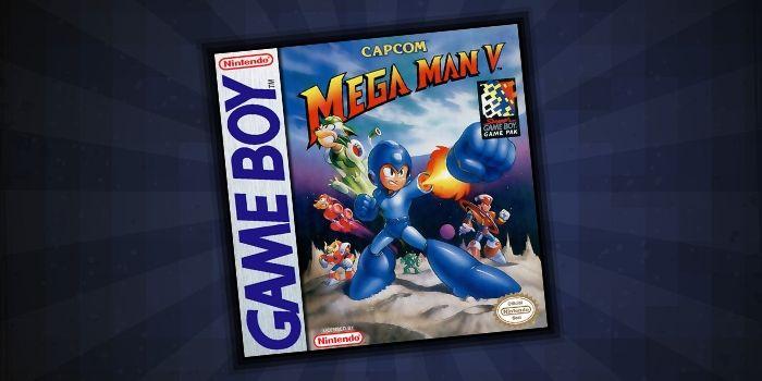 Mega Man V - #5 Rare Game Boy Game
