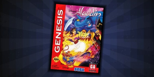 Aladdin Sega Genesis - #7 Best Disney Games for Sega Genesis