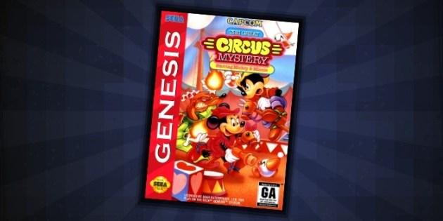 Circus Mystery Sega Genesis - #3 Best Disney Games for Sega Genesis