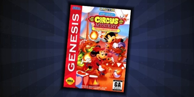 Circus Mystery Sega Genesis - #3 Best Disney Games for Sega Genesis