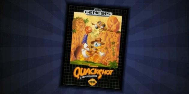 Quackshot Sega Genesis