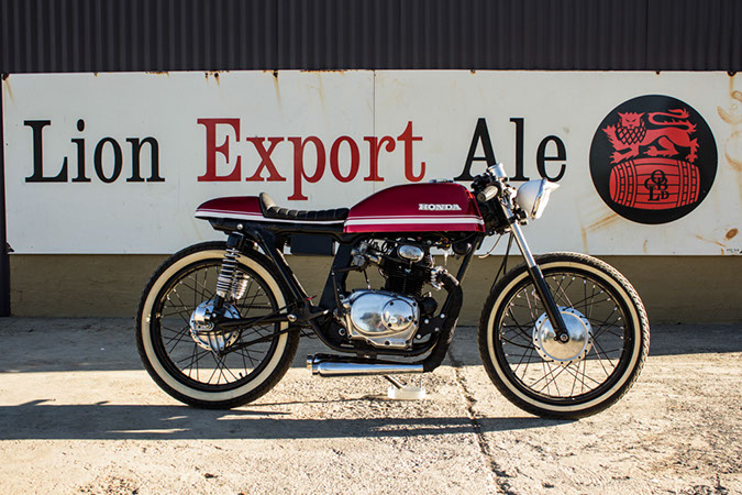 Our Featured Motorcycle Goes A Long Way To Supporting The Theory That Less Is More This Nimble Cafe Racer Started Life As Honda Cb175 Model Which Was