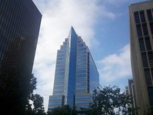 Skyscraper in color