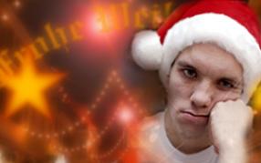 Depressiv an Weihnachten