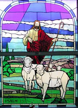 Kirchenfenster im Land der Hirten/Cowboys - Punta Gorda, Florida