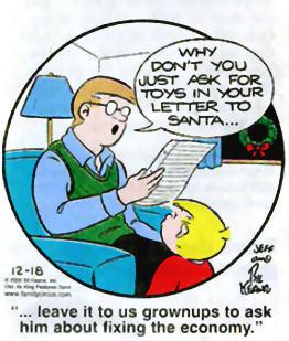 Brief an den Weihnachtsmann