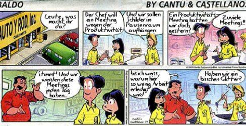 Comic, Durch Zeiteinteilung die Produktivität erhöhen?