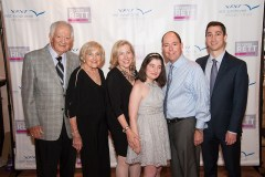 The Zelinger family at Reverse Rett Chicago
