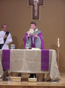 Mass with Fr. Mark
