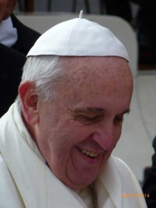 Pope Francis, January 29, 2014 by Anthony Kathol