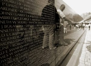 Veterans at Wall