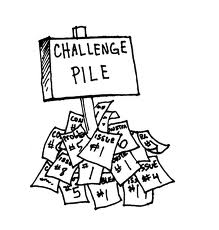 challenge pile
