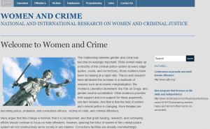 Women and Crime Website