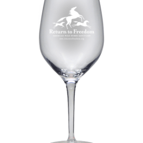 RTF Etched Wine Glasses