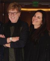 Robert Redford and Neda DeMayo