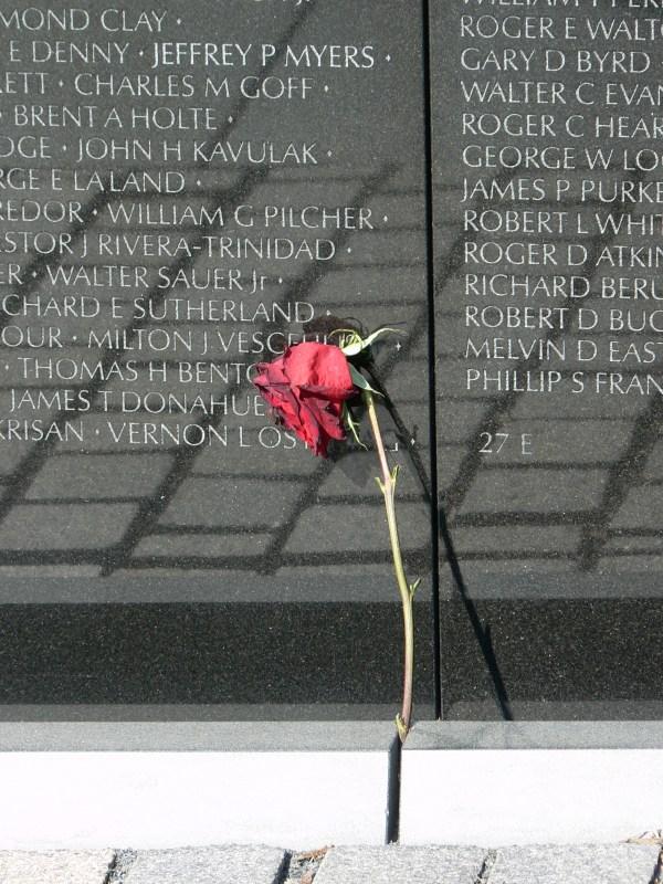 The Vietnam Memorial