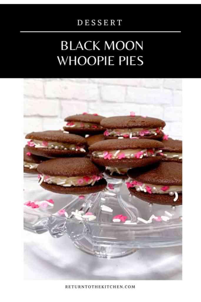 Black Moon Whoopie Pies