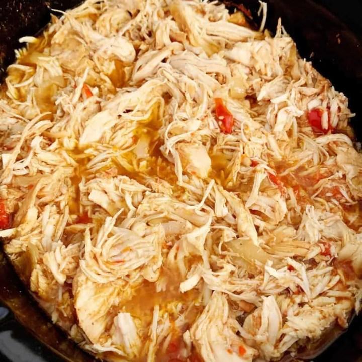 Crock Pot Chicken Fajitas