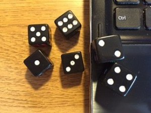 Trying to take control when it feels like your life is like the roll of the dice.